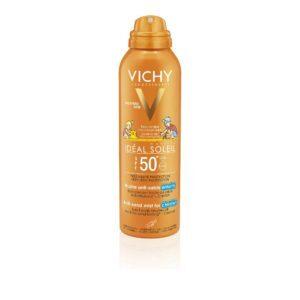 Καλοκαίρι Vichy – Ideal Soleil SPF 50+ Παιδικό Αντηλιακό Σπρέι για Πρόσωπο Σώμα 200ml
