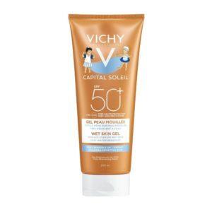 Παιδική Φροντίδα Vichy – Capital Soleil Wet Skin Gel Kids SPF50 Παιδικό Αντηλιακό 200ml
