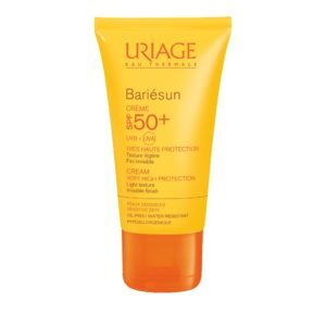 Περιποίηση Προσώπου Uriage – Bariesun Creme Sans Parfum Waterpoof Αδιάβροχη Αντηλιακή Κρέμα Υψηλής Προστασίας SPF50+ 50ml