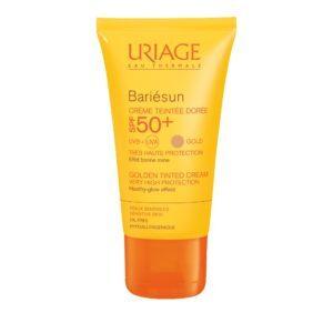 Περιποίηση Προσώπου Uriage – Bariesun SPF 50+ Crème Teintee Doree Αντηλιακή Προσώπου με Χρώμα 50ml