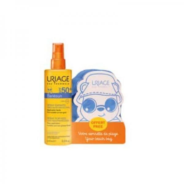 Μαμά - Παιδί Uriage – Set Bariesun Spray Για Παιδιά SPF50+ 200ml και Δώρο Παιδική Πετσέτα