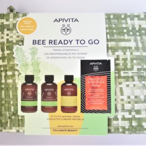 Περιποίηση Προσώπου Apivita – PROMO Travel Kit Bee Ready to Go Tonic Mountain Tea Frequent Use Hair Mask Orange