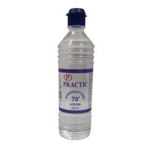 => STOP COVID-19 Practic – Αλκοολούχος Λοσιόν 70° 250ml
