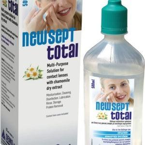 Καθαρισμός-Ph Demo – Newsept Total Υγρό Φακών Επαφής 500ml