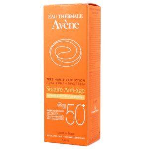 Περιποίηση Προσώπου Avene – Sunscreen Anti-Age SPF50+ 50ml Αντιγηραντικό Αντηλιακό Προσώπου