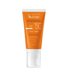 Περιποίηση Προσώπου Avene – Eau Thermale Solaire Creme SPF50+ Αντηλιακή Κρέμα Προσώπου για Ξηρή και πολύ Ξηρή Επιδερμίδα 50ml