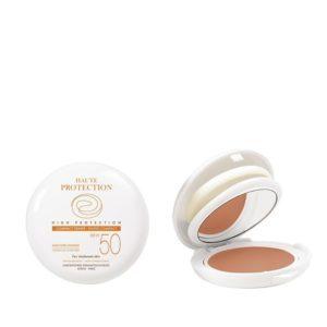 Περιποίηση Προσώπου Avene – Compact Make-up SPF50 Sable Απόχρωση του Χρυσού – Oil Free 10g