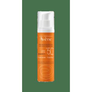 Άνοιξη Avene – Eau Thermale Solaire Fluide SPF50+ Teintee Αντηλιακή Λεπτόρρευστη Κρέμα Προσώπου με Χρώμα για Κανονική Μικτή και Λιπαρή επιδερμίδα 50ml