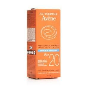Γυναίκα Avene – Soins Solaires Emulsion Λεπτόρευστη Αντηλιακή Προσώπου SPF20 50ml