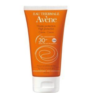 Περιποίηση Προσώπου Avene – Sunscreen Cream Αντηλιακή Κρέμα Υψηλής Προστασίας SPF30 για Ξηρό Πολύ Ξηρό Δέρμα 50ml