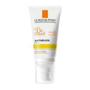 Γυναίκα La Roche Posay – Anthelios KA+ SPF 50+ για το Δέρμα Υψηλού Κινδύνου Έναντι της Ακτινοβολίας UV 50ml