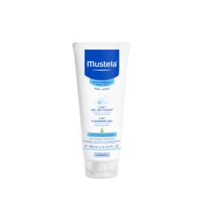 Βρεφική Φροντίδα Mustel – Mustela 2 σε 1 Gel Nettoyant Tζελ Καθαρισμού για το Σώμα και τα Μαλλιά 200ml