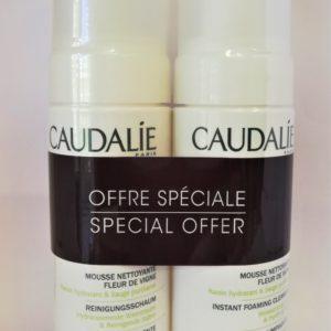 Γυναίκα Caudalie – Instant Foaming Cleanser Αφρός Καθαρισμού για το Πρόσωπο 2x150ml