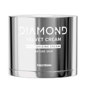 Περιποίηση Προσώπου Frezyderm – Diamond Velvet Moisturizing Cream Κρέμα Ισχυρής Ενυδάτωσης για Ώριμα Δέρματα 50ml