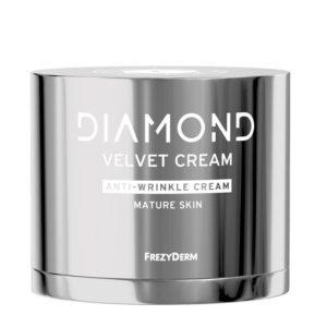 Περιποίηση Προσώπου Frezyderm – Diamond Velvet Cream Αντιρυτιδική Συσφιγκτική Κρέμα για Ώριμα Δέρματα 50ml