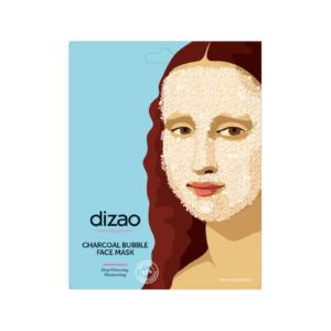 Περιποίηση Προσώπου Dizao – Charcoal Bubble Face Mask Με Ενεργό Άνθρακα 1τμχ