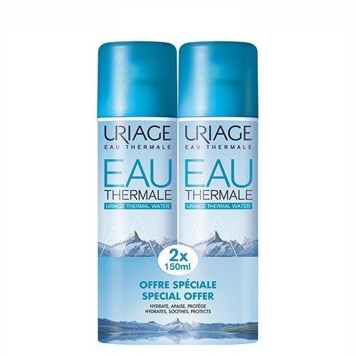 Γυναίκα Uriage – Eau Thermale Spray Ιαματικό Νερό Ενυδάτωση και Προστασία 2x150ml