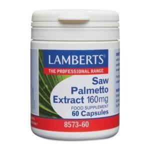 Αντιμετώπιση Lamberts – Saw Palmetto Extract Καλή Υγεία του Προστάτη και Γυναικείων Ορμονών 160mg 60caps
