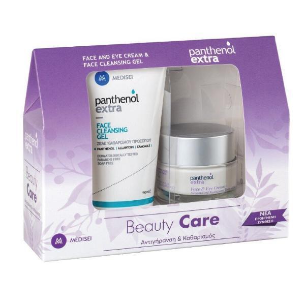 Γυναίκα Medisei – Panthenol Extra Promo Face και Eye Κρέμα Προσώπου και Ματιών 50ml και Face Cleancing Gel Καθαρίζει και Δροσίζει το Πρόσωπο 150ml