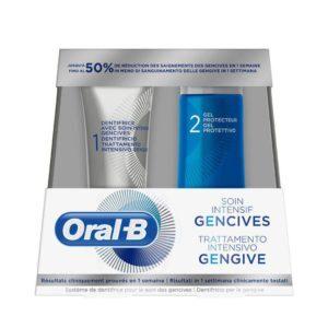 Στοματική Υγιεινή-ph Oral B – Gum Intensive Care Σύστημα Στοματικής Υγιεινής για Υγιή Ούλα 1 Οδοντόκρεμα 52ml και 1 Τζελ Προστασίας 63ml