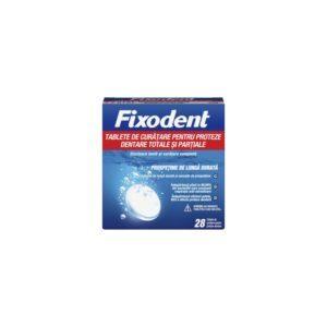 Φαρμακείο Fixodent – Ταμπλέτες Καθαρισμού για Ολικές και Μερικές Τεχνητές Οδοντοστοιχίες 28tabs