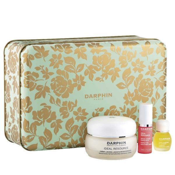 Γυναίκα Darphin – Xmas Set Ideal Resource Smoothing Retexturing Radiance Cream για Κανονικές Ξηρες 50ml και Anti-Aging και Radiance Smoothing Perfecting Serum 5ml και Jasmine Αιθέριο Έλαιο Γιασεμί 4ml