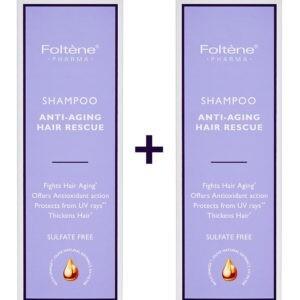 Γυναίκα Foltene – Promo Anti-Aging Hair Rescue Shampoo Σαμπούαν για Προτασία και Λαμψή 1+1 Δώρο 400ml
