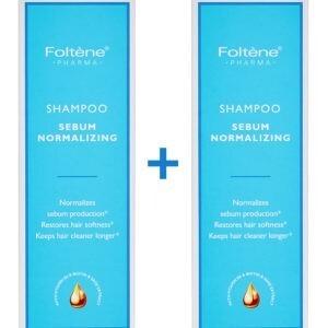 Γυναίκα Foltene – Promo Shampoo Sebum Normalizing Σαμπουάν Ρυθμιστικό Σμήγματος 1+1 Δώρο 400ml