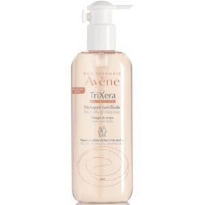 Ευαίσθητο Δέρμα Βρέφους Avene – TriXera Nutrition Gel Nettoyant Λεπτόρευστο θρεπτικό Καθαριστικό Πρόσωπο και Σώμα 400ml