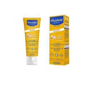 Άνοιξη Mustela – Sun Face Lotion SPF50+ Αντηλιακή Προσώπου για Βρέφη Παιδιά 40ml