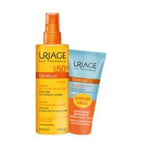 Περιποίηση Προσώπου Uriage – Promo Bariésun Spray Solaire SPF50 200ml + Baume Réparateur Après Soleil 50ml