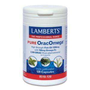Αντιμετώπιση Lamberts – Pure OracOmega 760mg Ιχθυέλαιο με Αντιοξειδωτική Δράση 120caps