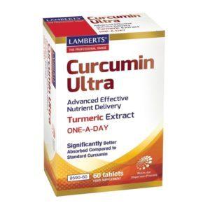 Αντιμετώπιση Lamberts – Curcumin Ultra Συμπλήρωμα από Εκχύλισμα Κουρκουμά 60tabs