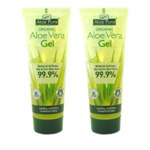 Γυναίκα Optima – Promo Organic Aloe Vera Gel 99.9% Ζελέ Aλόης για Eνυδάτωση 2x100ml