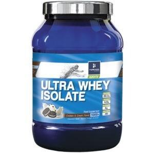 Πρωτεΐνες - Υδατάνθρακες MyElements – Ultra Whey Isolate Cookies και Cream Πρωτεΐνη 100% Ορού Γάλακτος 1000gr