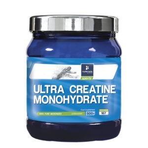 Συμπληρώματα Διατροφής MyElements – Ultra Creatine Monohydrate Συμπλήρωμα Διατροφής για Αύξηση Μυϊκής Μάζας 500gr