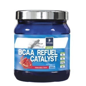 Αμινοξέα MyElements – BCAA Refuel Catalyst Watermellon Φόρμουλα με Αμινοξέα και Ηλεκτρολύτες για Αύξηση της Μυικής Μάζας με Γεύση Καρπούζι 300gr