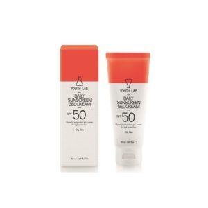 Άνοιξη Youth Lab – Daily Sunscreen Gel Cream SPF 50 για Λιπαρές Επιδερμίδες 50ml