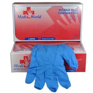 Διάφορα Αναλώσιμα-ph Mediworld – Γάντια Νιτριλίου Large Χωρίς Πούδρα 100τμχ