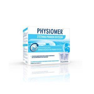 Φθινόπωρο Physiomer – Φακελλίσκοι για Ρινική Πλύση για Ενήλικες και Παιδιά 4+ 30τμχ