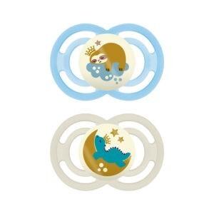 Πιπίλες - Μπιμπερό MAM – Perfect Πιπίλες Σιλικόνης για 2-6 Μηνών 2 τεμάχια