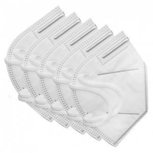 Υγεία-φαρμακείο Respirator Mask Μάσκα Προσώπου Πολλαπλών Χρήσεων με Λάστιχο KN95 FFP2 5τμχ