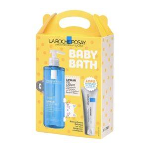 Μαμά - Παιδί La Roche – Posay Promo Baby Lipikar Gel Lavant Gel Καθαρισμού με Προστατευτική Δράση για Όλη την Οικογένεια 400ml ΔΩΡΟ Cicaplast Baume B5 15ml