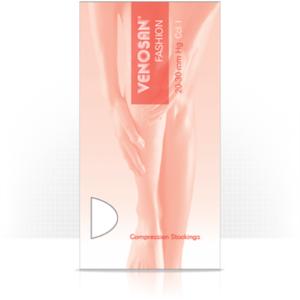 Κάτω Άκρο Venosan Fashion – Κάλτσες Διαβαθμισμένης Συμπίεσης Κάτω Γόνατος Κλάση II Μέγεθος X-Large Μπέζ Κλειστά Δάχτυλα