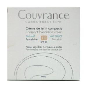 Γυναίκα Avene – Couvrance Creme de Teint Compacte Confort Make Up Κρέμα Compact Naturel 2.0 SPF30 10gr
