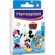 ΕΠΙΔΕΣΜΙΚΟ ΥΛΙΚΟ Hansaplast – Jounior Disney Mickey Mouse and Friends Παιδικά Αυτοκόλλητα Επιθέματα 20τμχ