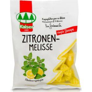 Υγεία-φαρμακείο Medisei – Kaiser Zitronen-Melisse Καραμέλες για το Βήχα με Μελισσόχορτο και 13 Βότανα 60gr