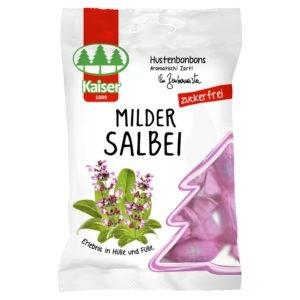 Υγεία-φαρμακείο Medisei – Kaiser MILDER SALBEI Καραμέλες για το Βήχα με Φασκόμηλο και 13 Βότανα 60γρ