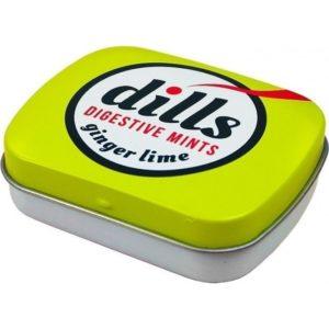 Στοματική Υγιεινή-ph Medisei – Dills Digestive Mints Ginger & Lime Παστίλιες για τη Χώνεψη και την Κακοσμία 15g