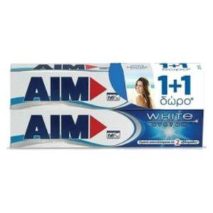 Οδοντόκρεμες-ph Aim – White System Οδοντόκρεμα με Σύστημα Λεύκανσης Δοντιών 2x75ml